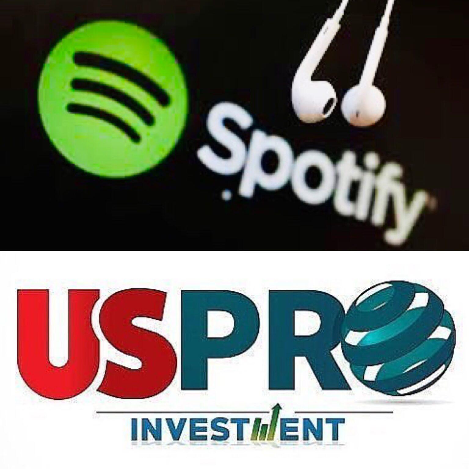 En Spotify Suena música de la primera.utilidad bruta de 26 %