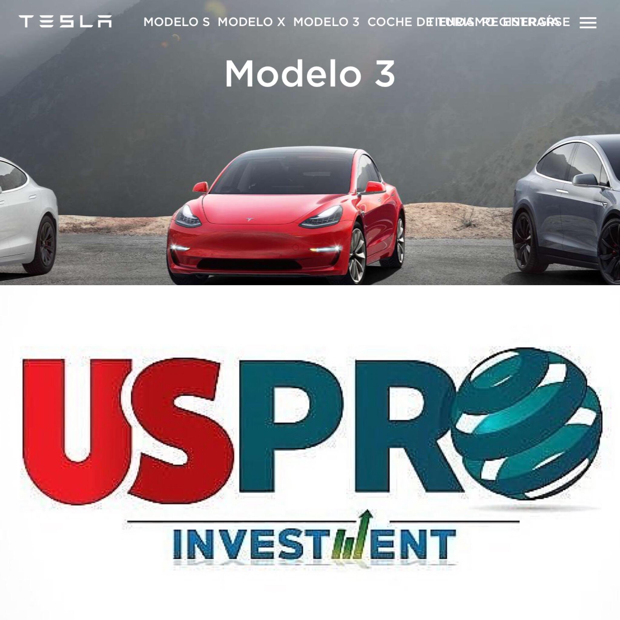 Tesla sorprende a todos y presenta el Modelo 3 estándar de $35.000. Las acciones suben, bajan y siguen fuertes.