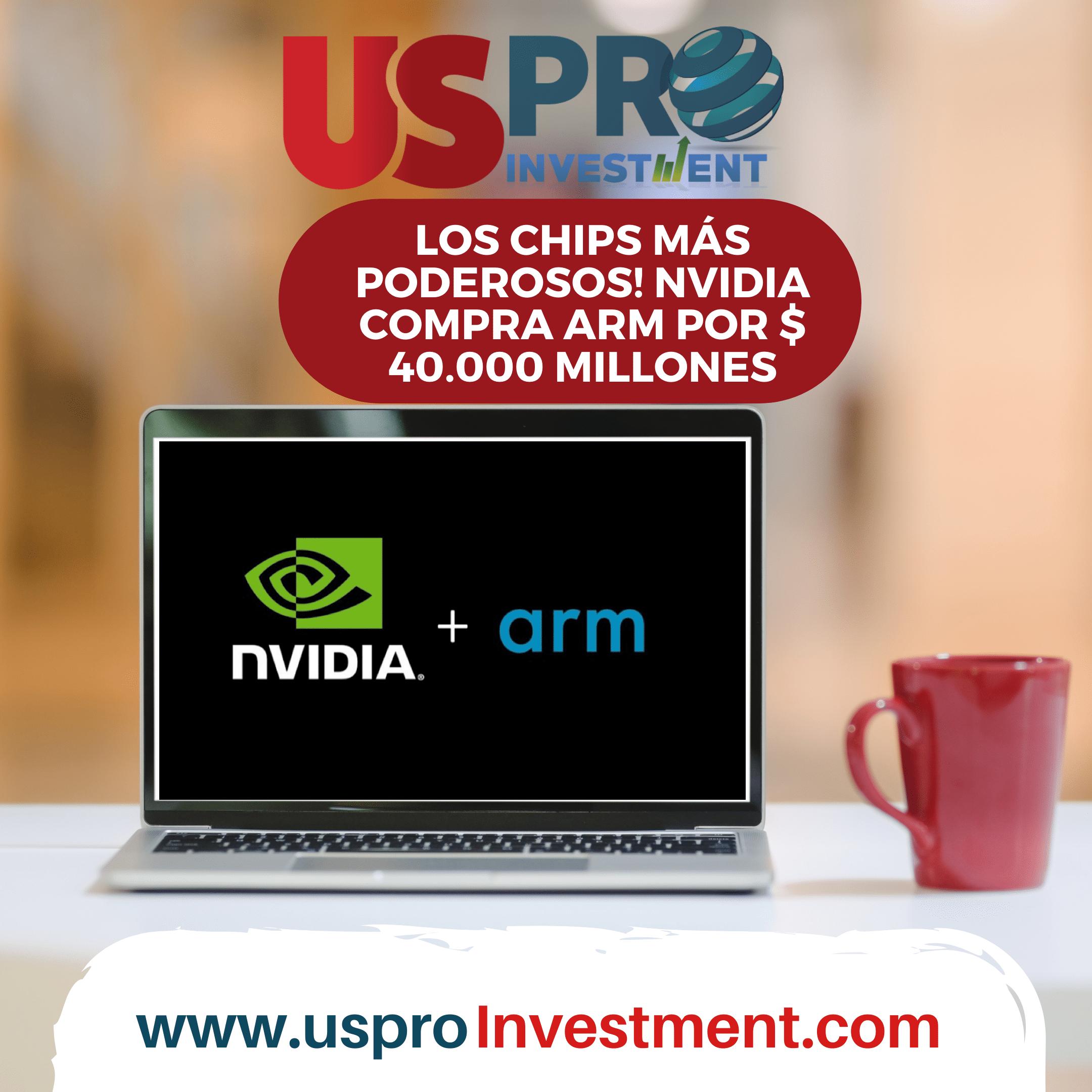 Los chips más poderosos! Nvidia compra Arm por $40.000 millones