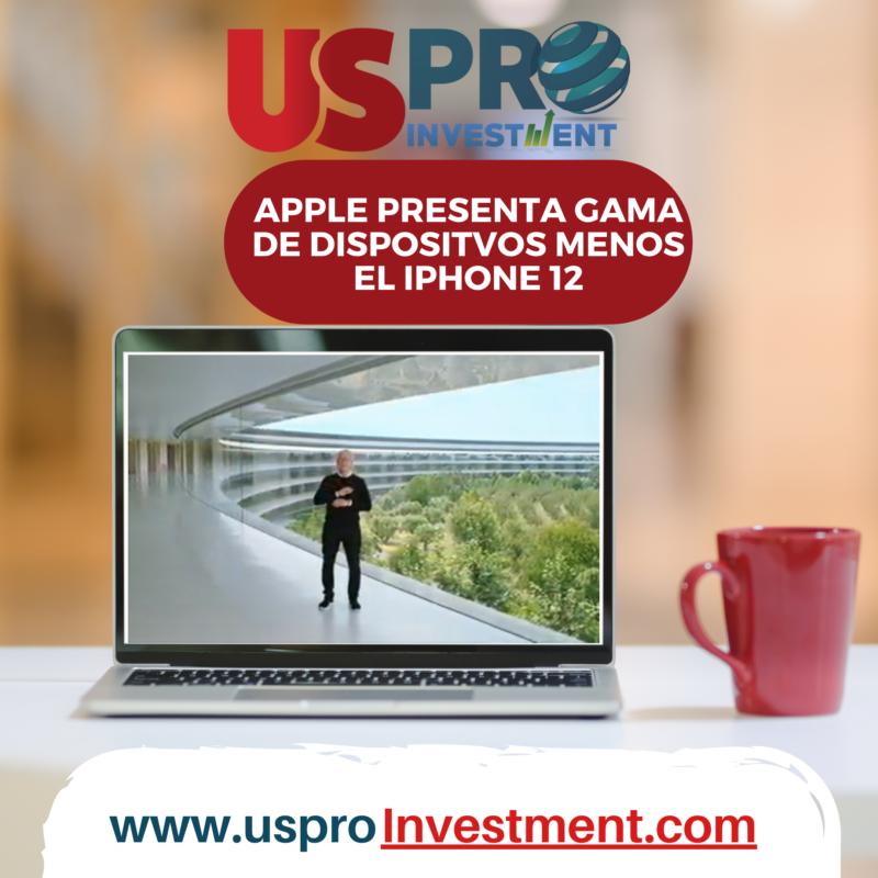 Us Pro Investment Evento Apple 15/09/2020