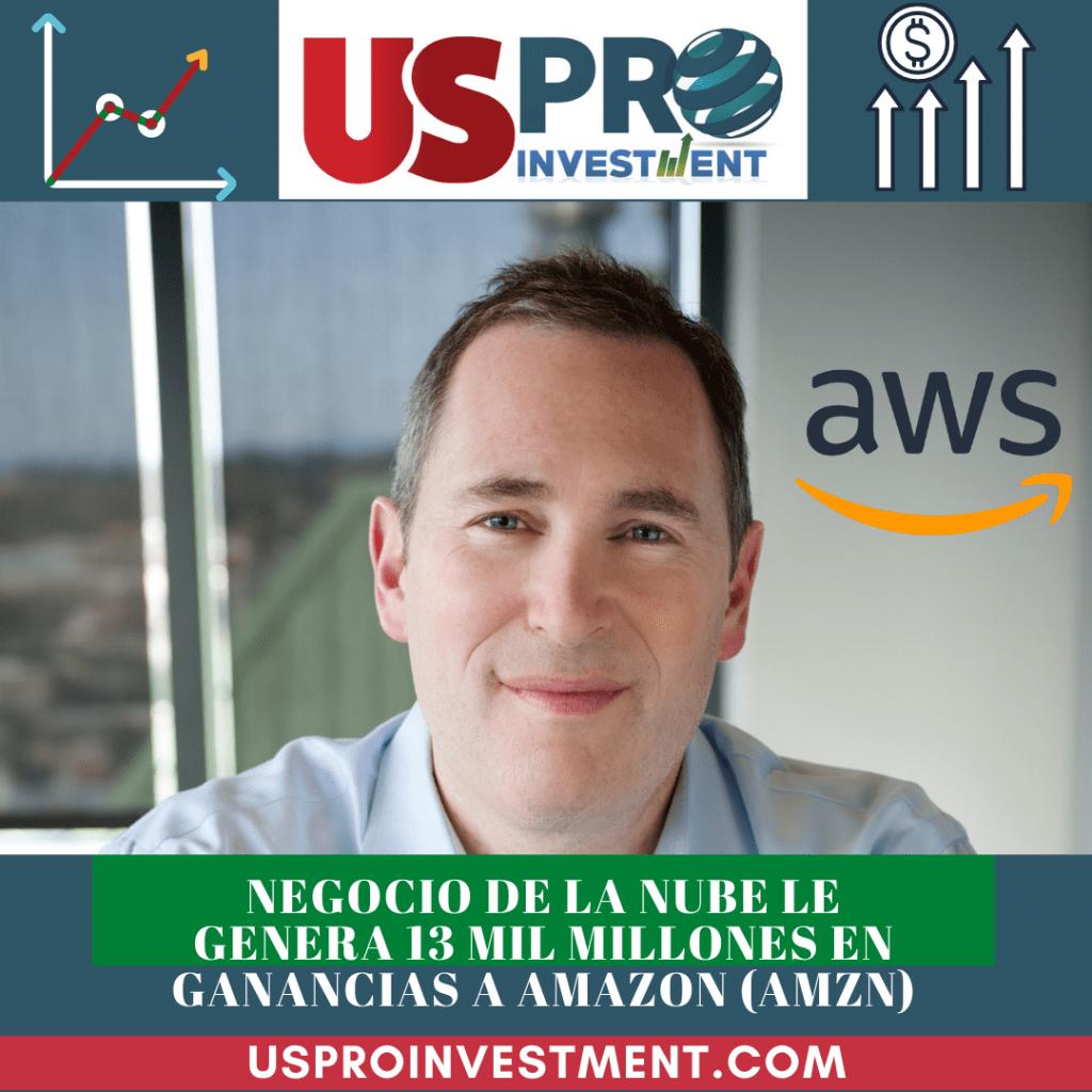 Negocio de la nube le genera 13 mil millones en ganancias a Amazon (AMZN)