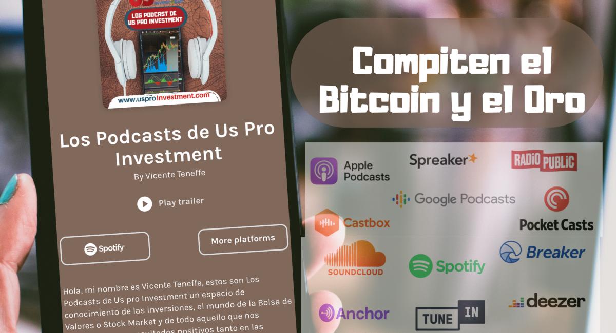 Compiten el Bitcoin y el Oro en 2021
